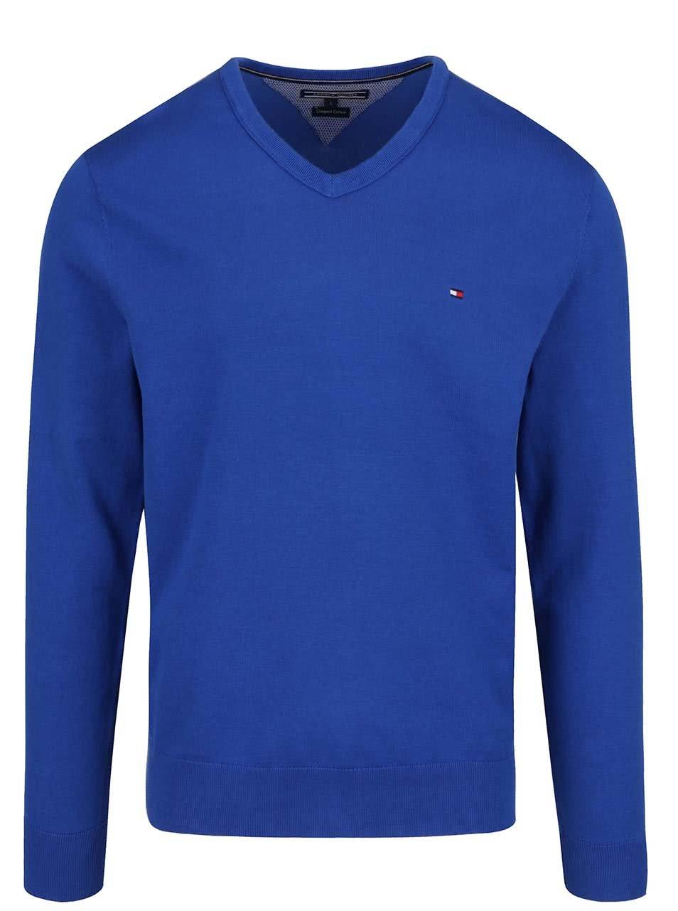 Modrý pánsky sveter Tommy Hilfiger ... 05d160567e2