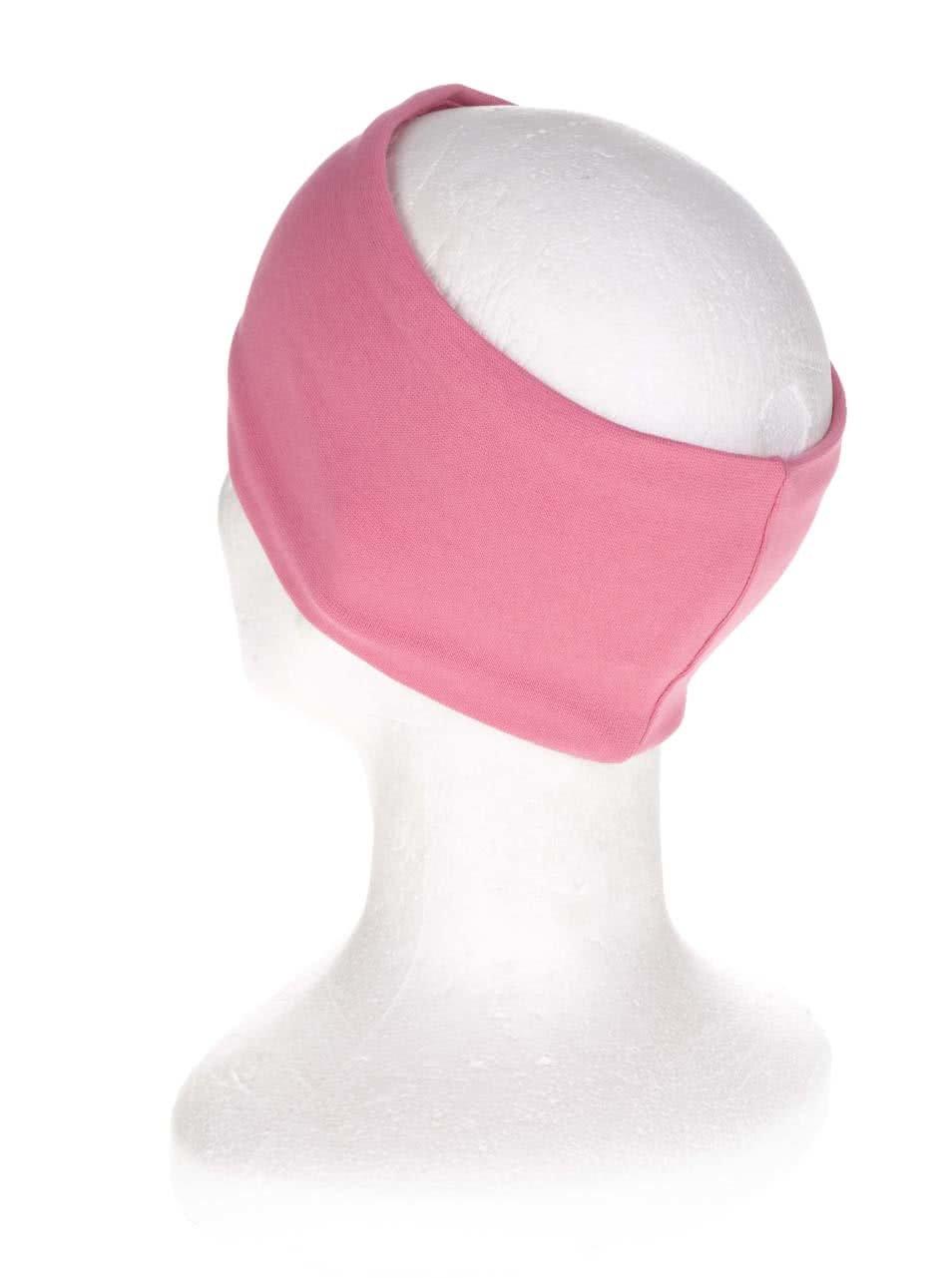 Růžová holčičí čelenka s potiskem name it Moppy ... 2693686846