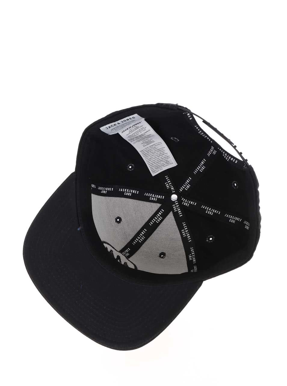 Černá kšiltovka s logem Jack   Jones Circle ... 11d03c72eb