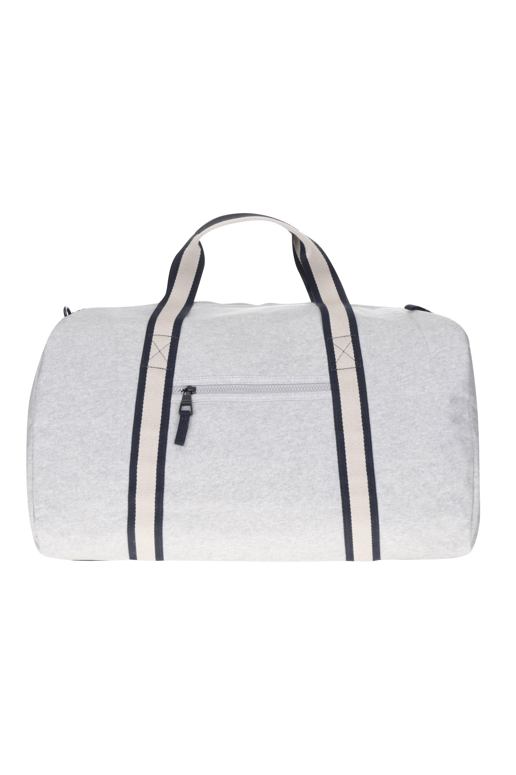 dd5b9d7570405 Modro-sivá pánska cestovná taška s nášivkou Tommy Hilfiger | ZOOT.sk