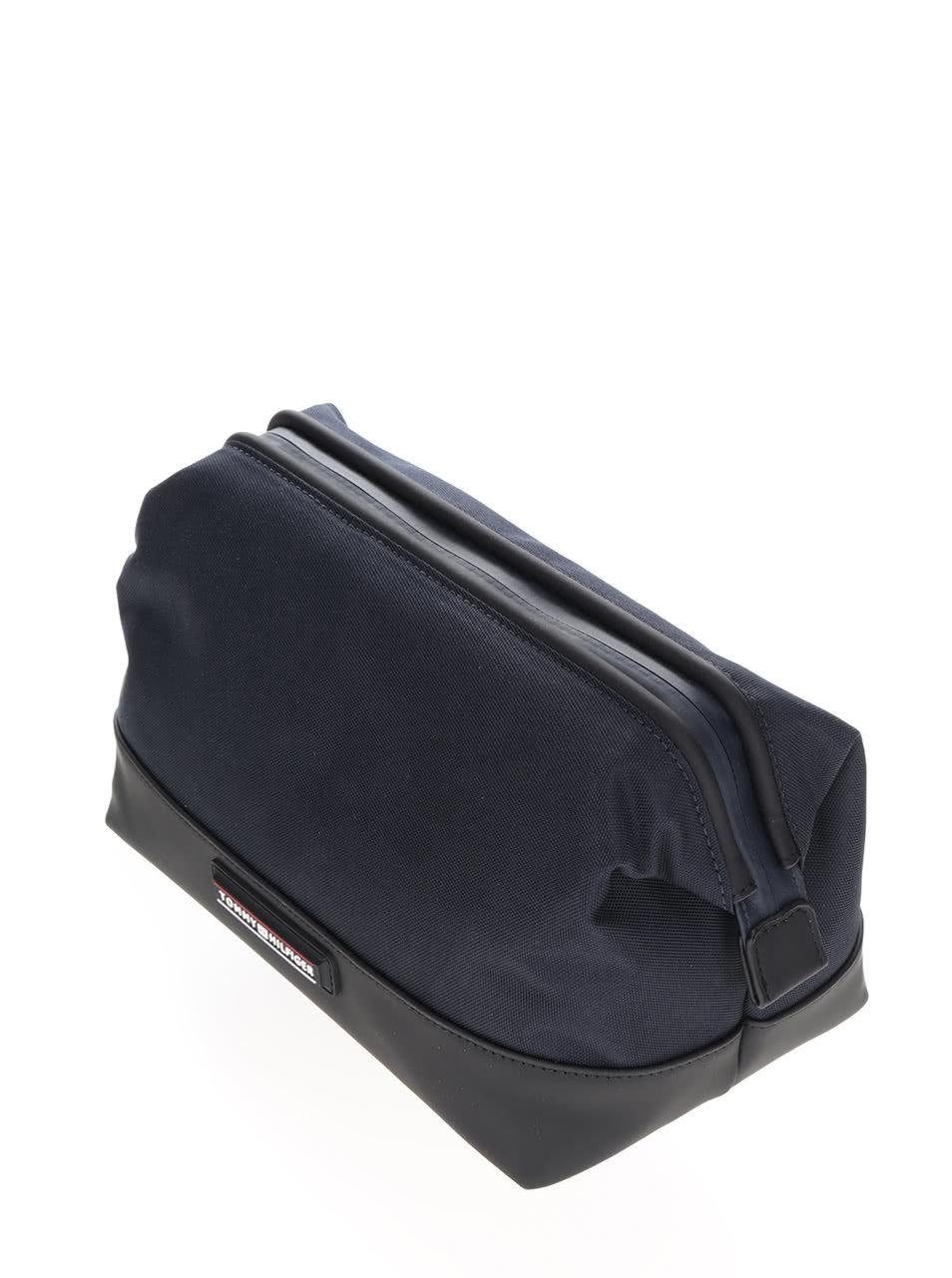 Modro-čierna pánska kozmetická taška Tommy Hilfiger ... dfbecd8cd8c