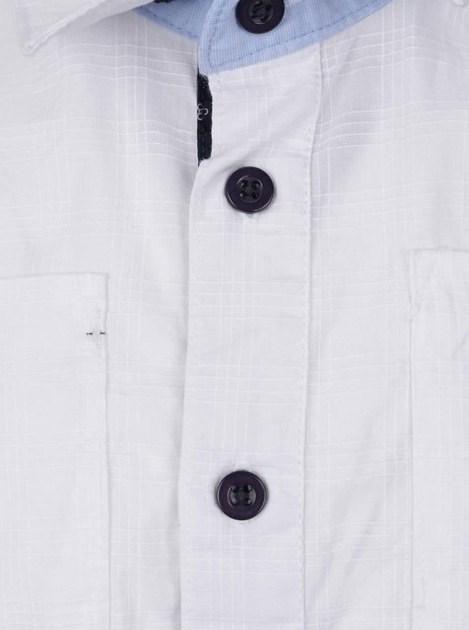 8f14b383e4e4 Bílá klučičí košile s kravatou North Pole Kids ...