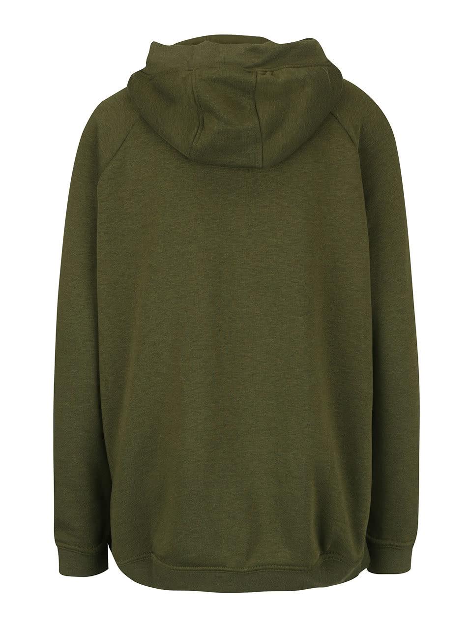 Zelená dámská mikina s kapucí Nike Sportswear Modern Cape ... 717e7bfcd2