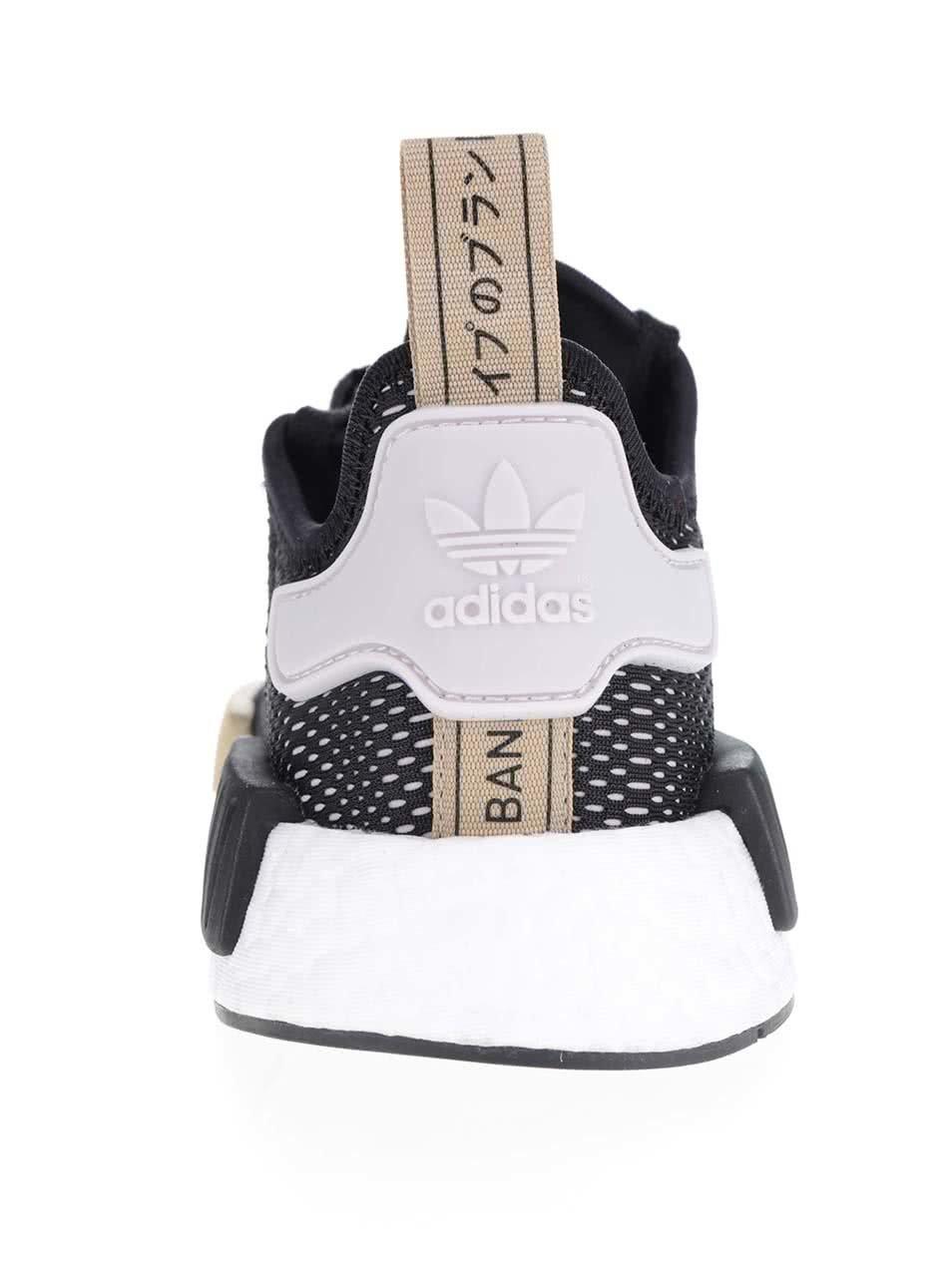 0cf2219d1084 Čierne dámske tenisky na platforme adidas Originals NMD ...