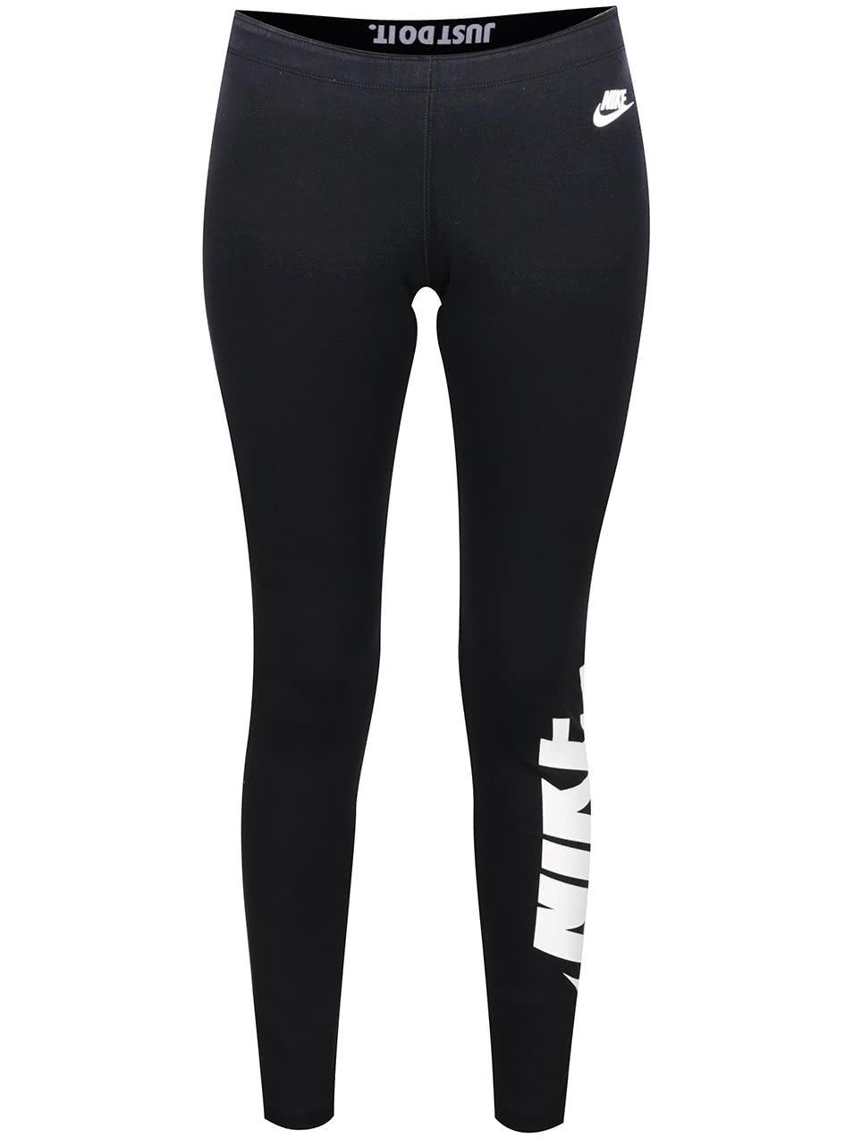 8796a45a84f0 Čierne dámske legíny Nike Sportswear Legging ...