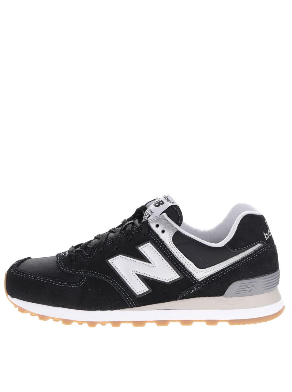 Černé pánské semišové tenisky New Balance ... bbf4f742f9f
