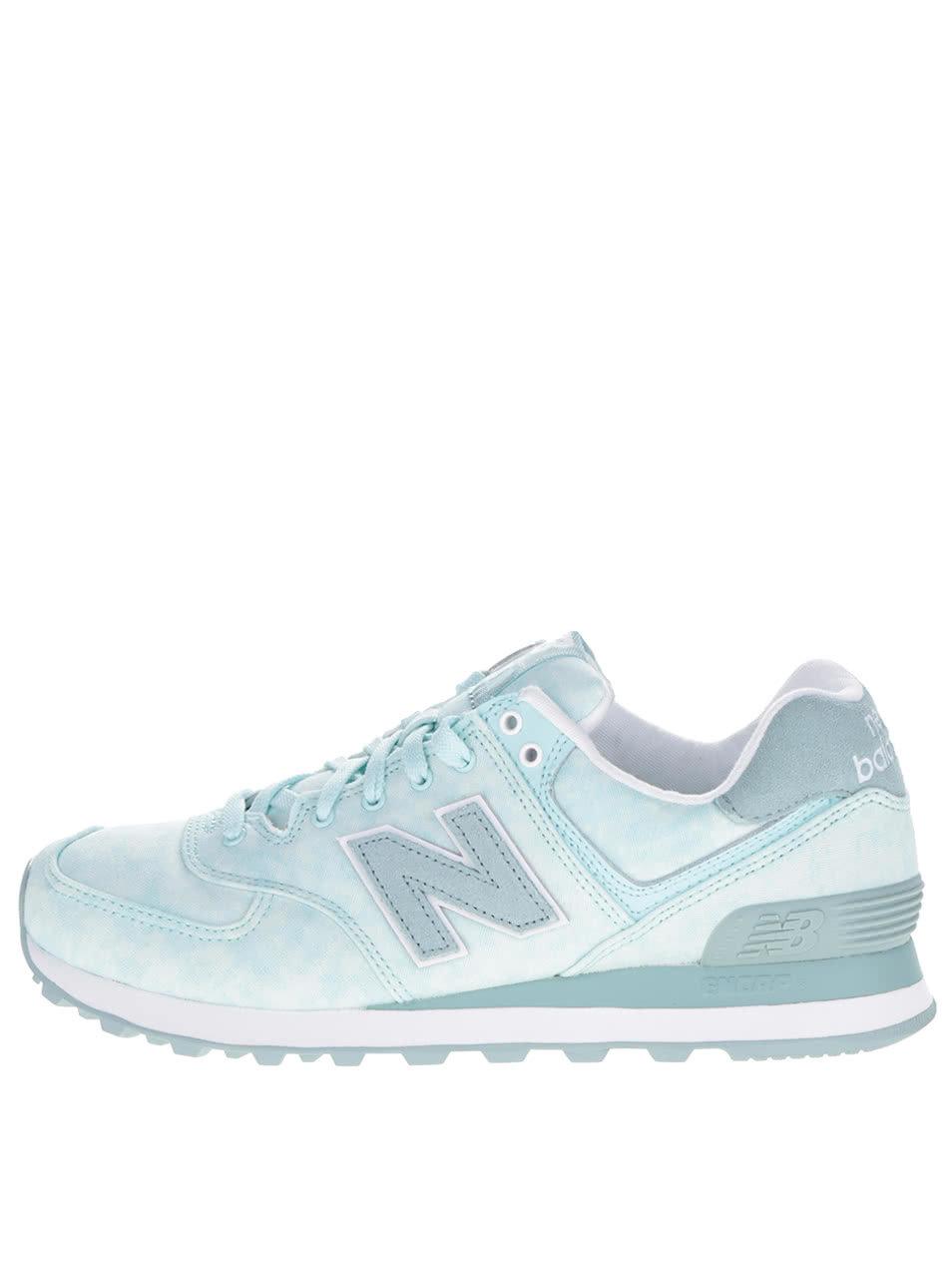 Mentolové dámske tenisky New Balance ... 2619189ec5