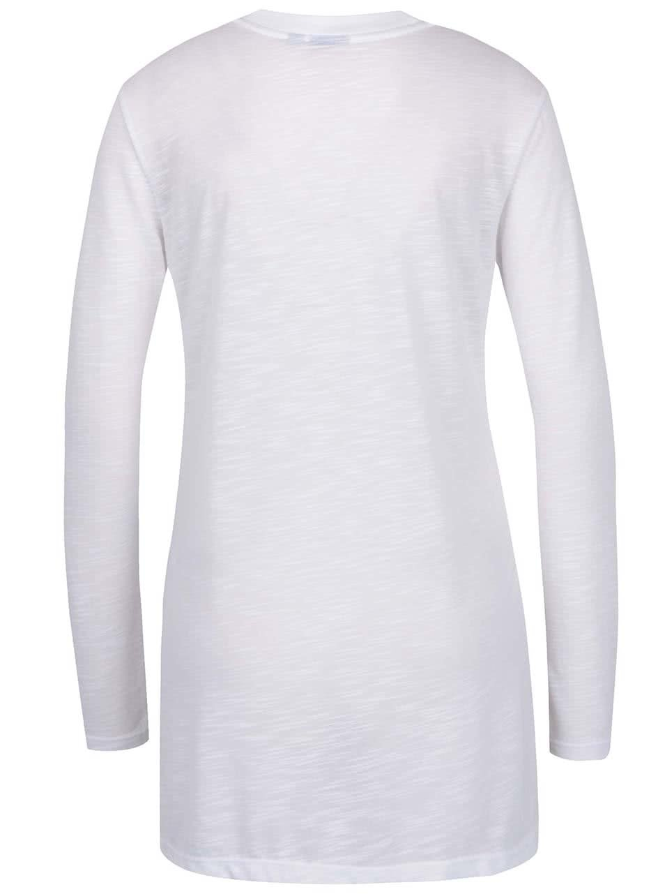fc0b0f7874c2 Bílé dámské dlouhé průsvitné tričko adidas Originals ...
