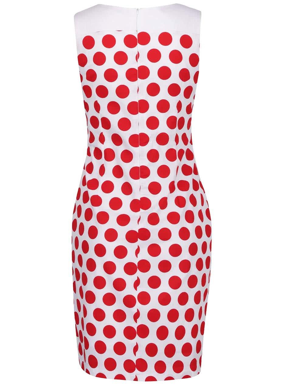 5d1ae662d9691 Červeno-biele bodkované šaty Smashed Lemon | ZOOT.sk
