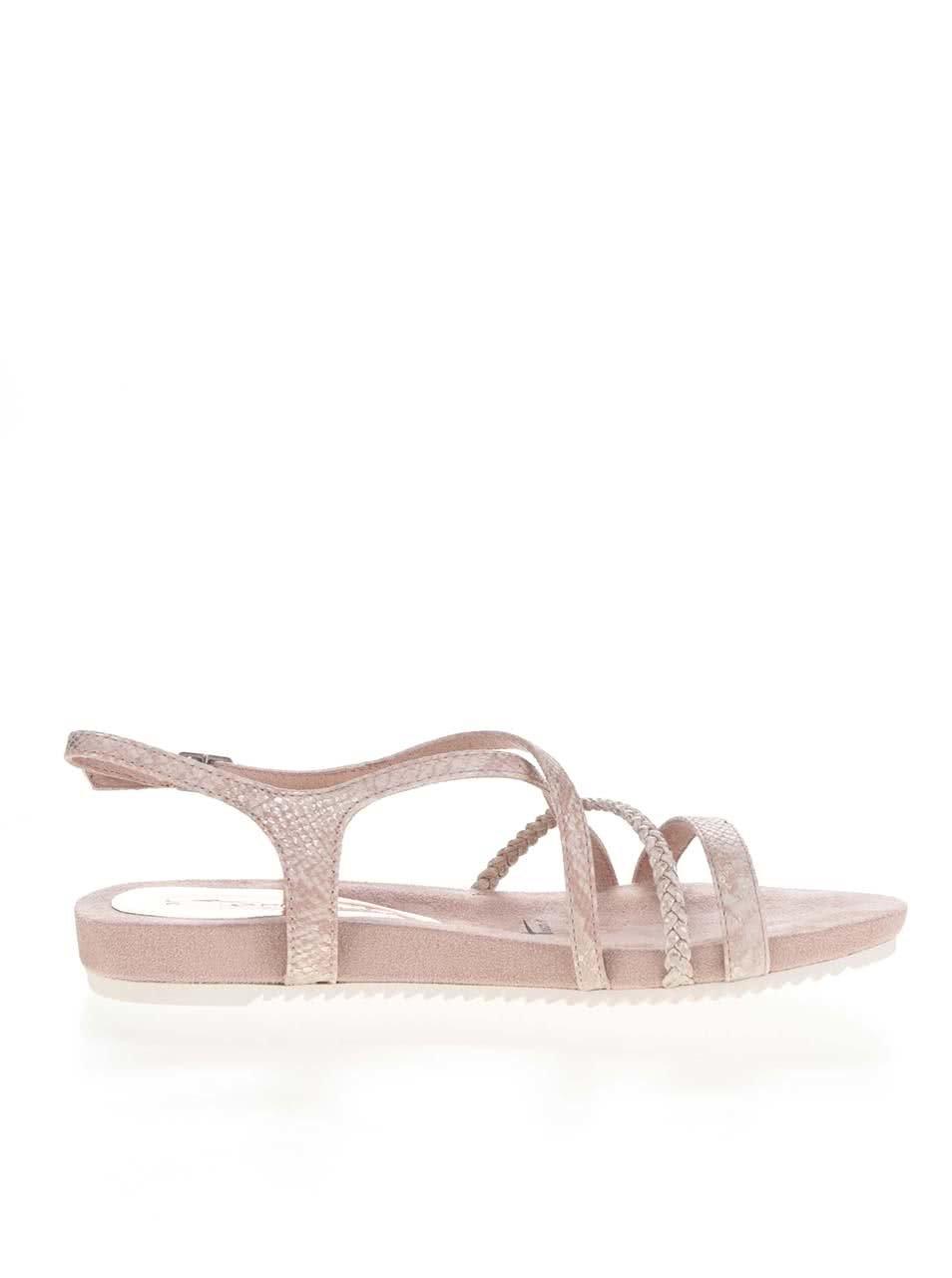 d3c80e6989 Ružové remienkové sandále Tamaris ...