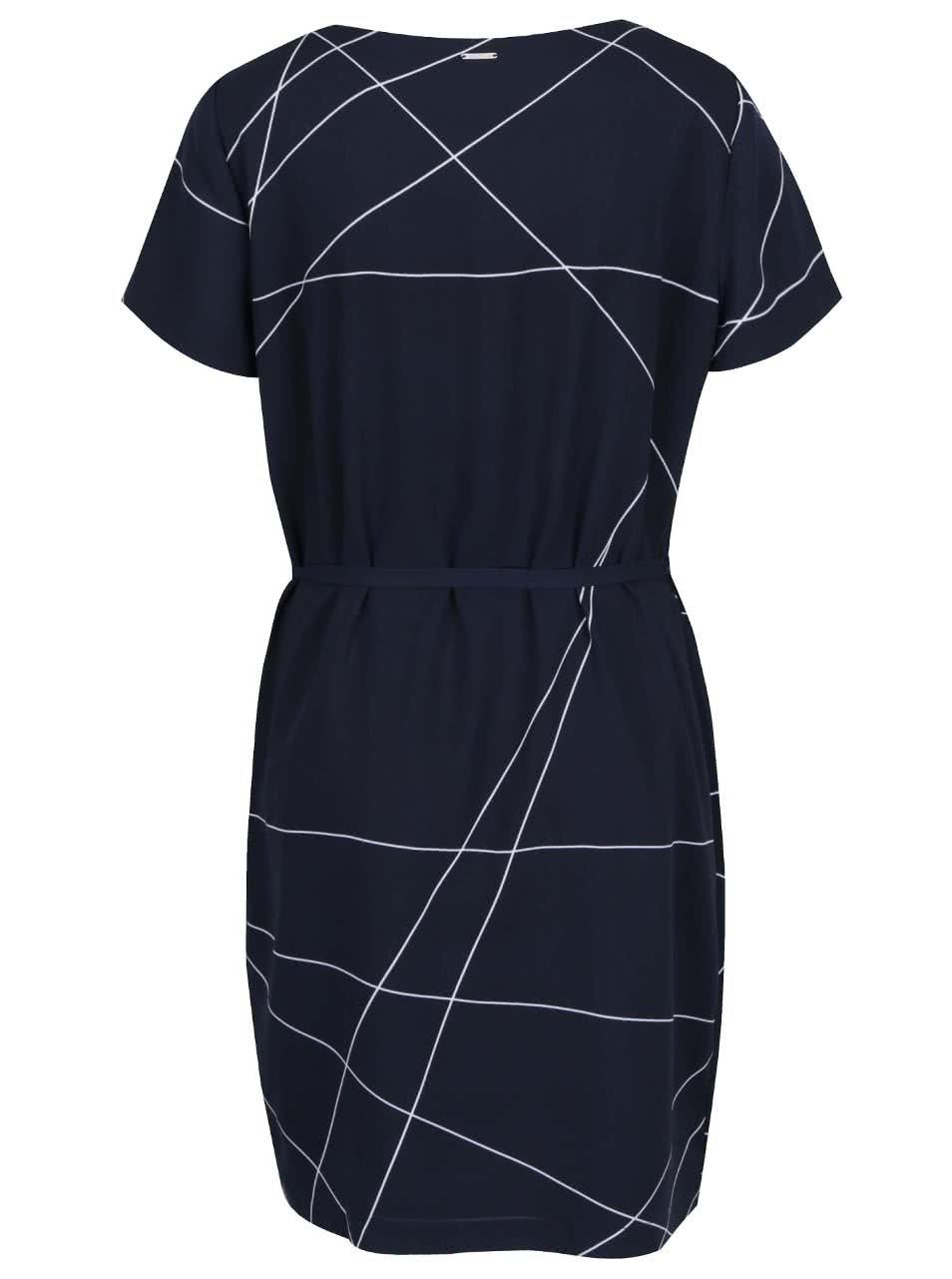 9a6e55dc6 Tmavomodré voľné vzorované šaty Nautica   ZOOT.sk