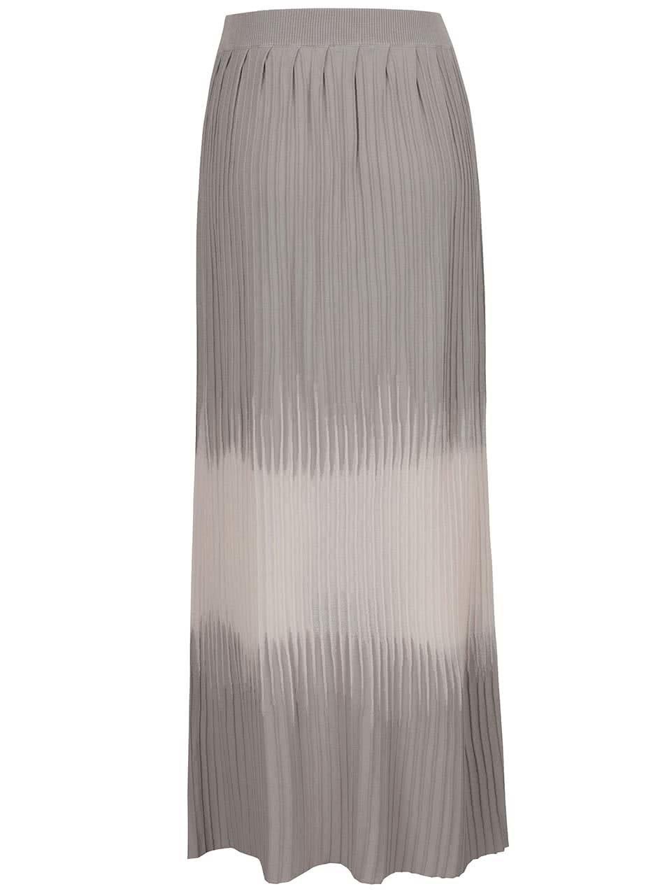 290c021d3769 Ružovo-sivá dlhá plisovaná sukňa Pietro Filipi ...