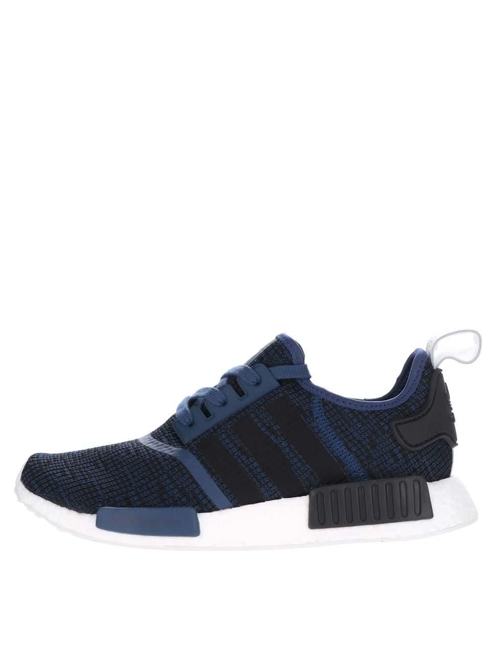 a739364c1a8 Černo-modré pánské tenisky adidas Originals NMD ...