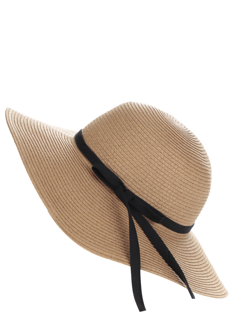 ad966b775 Svetlohnedý klobúk s mašľou Pieces Lele   ZOOT.sk