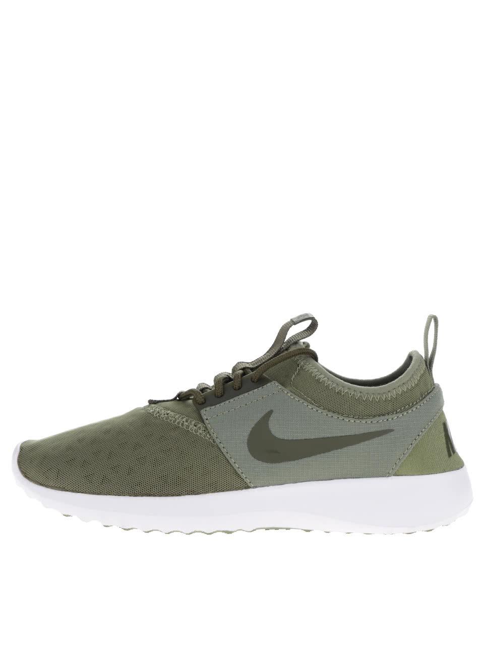 bd7667790087 Zelené dámske tenisky Nike Juvenate ...