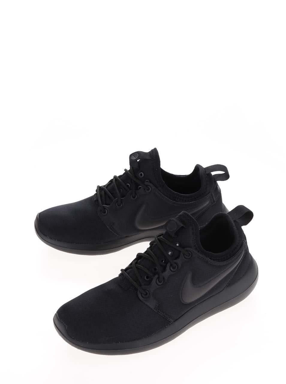 Černé dámské tenisky Nike Roshe Two ... e5b16b7815c