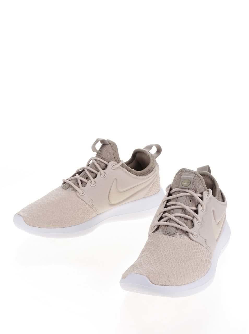 e4ce4d82aa5da Béžové dámske tenisky Nike Roshe | ZOOT.sk