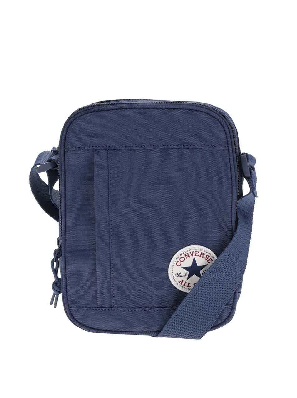 dad33fac43 Tmavě modrá unisex crossbody taška Converse Poly ...