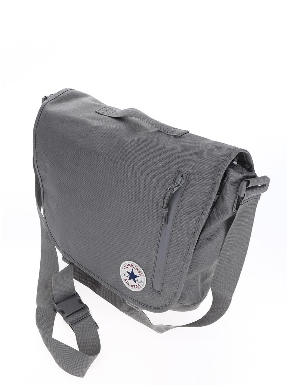 Šedá unisex taška přes rameno Converse Poly ... 9f4f46ad752