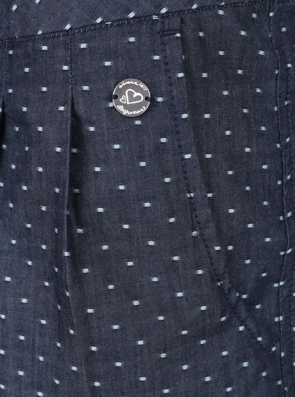 313ac1b1aad4 Tmavě modré dámské puntíkované kraťasy Ragwear High Dots - Akční ...