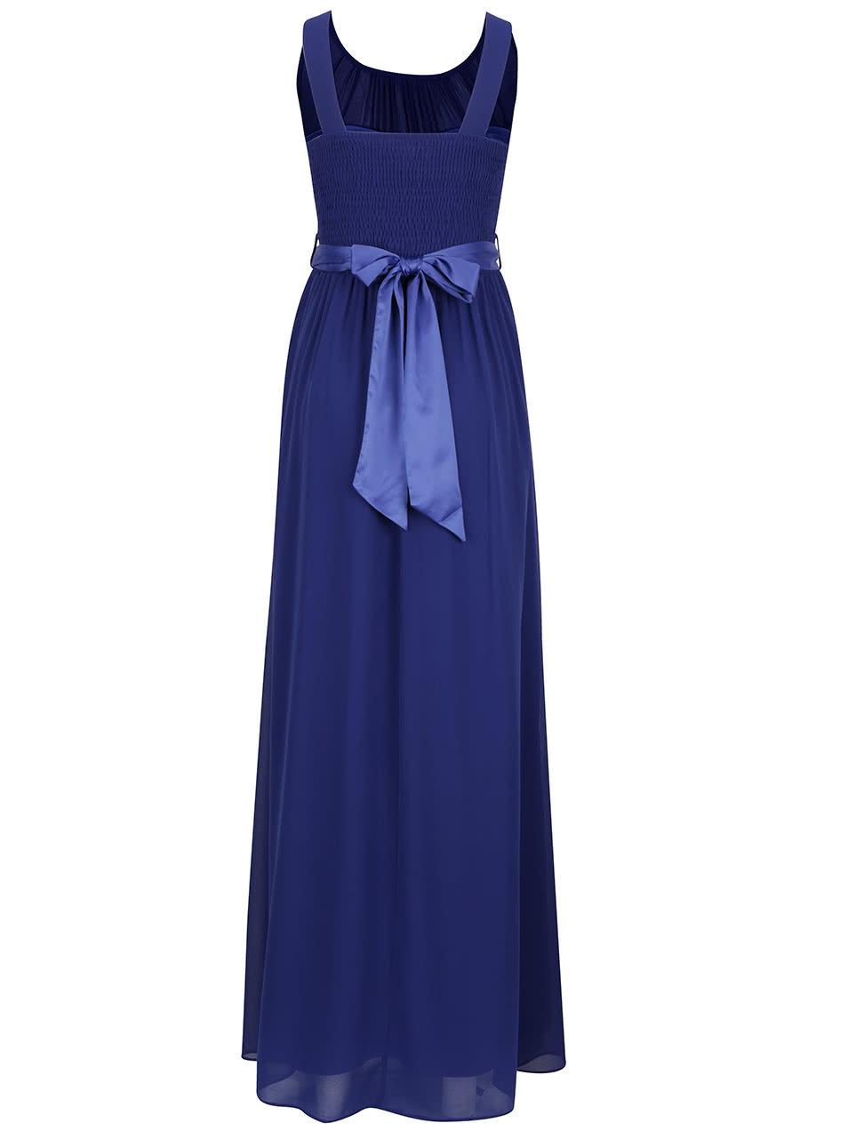 59c506f01782 Modré dlhé šaty Dorothy Perkins ...