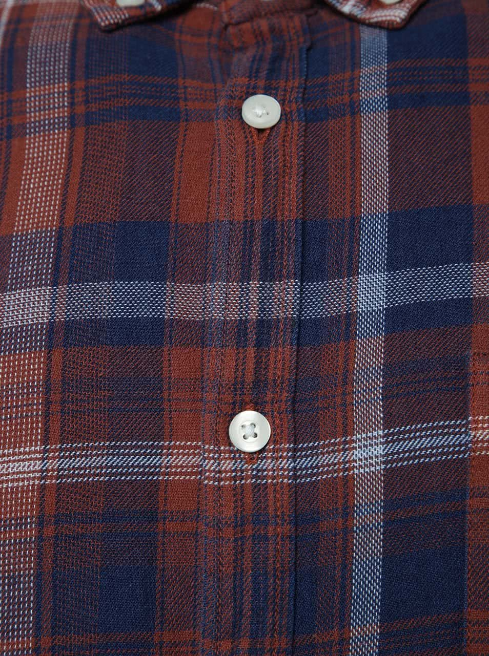 17912ed15e Hnedá károvaná košeľa Burton Menswear London ...