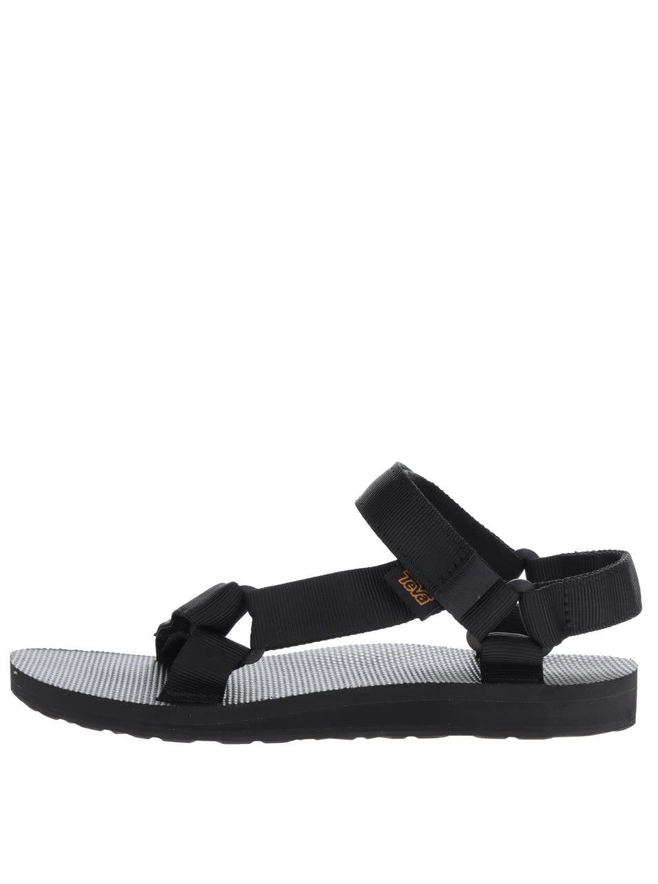 9e1447943d96 Čierne dámske sandále Teva ...