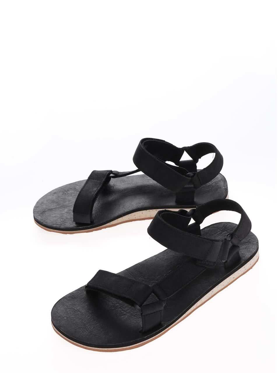 bcead94be Čierne kožené pánske sandále Teva | ZOOT.sk