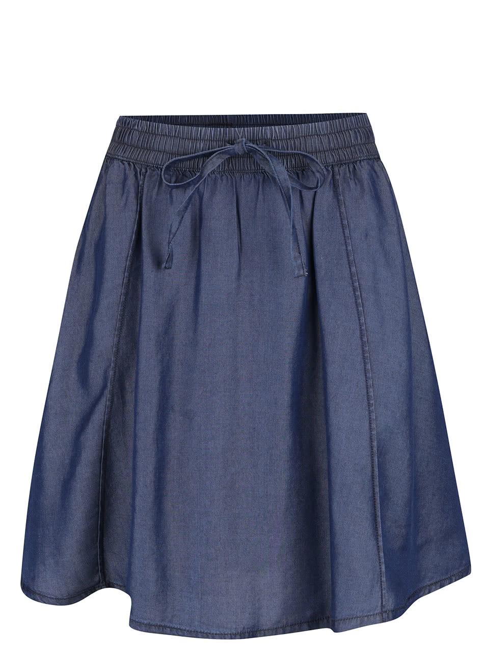 fda7d690d1f Tmavě modrá sukně s kapsami VILA Sinea ...