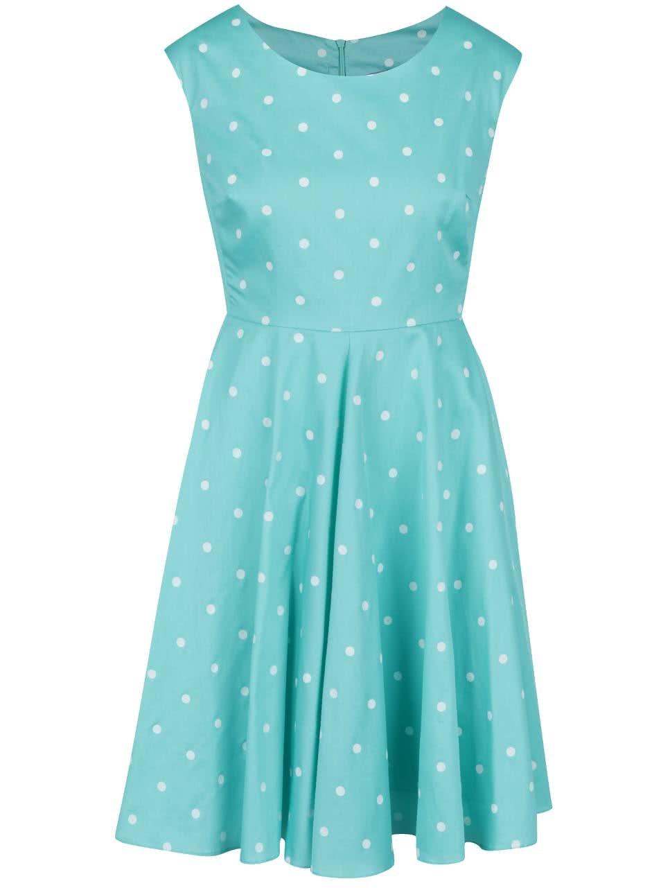 5bde23820e27 Zelené puntíkované šaty Tom Joule Amelie ...