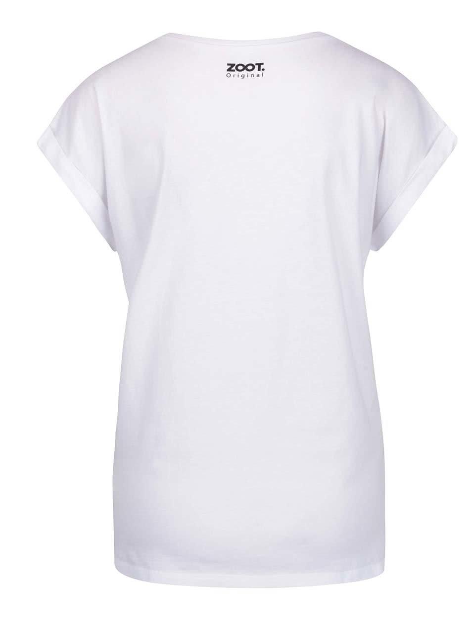 Bílé dámské tričko ZOOT Originál Mama queen ... ac5d192a12