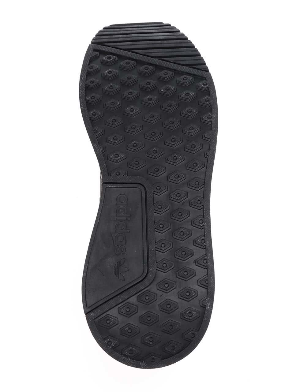 Čierno-červené melírované pánske tenisky adidas Originals X  PLR ... e58336872af