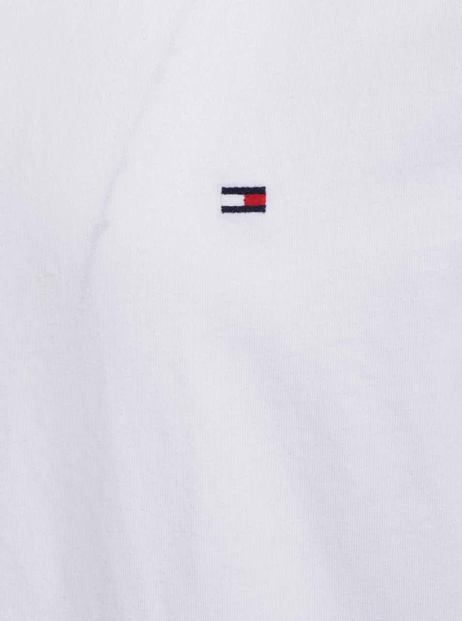 f90aa8667c6 Biele pánske basic tričko Tommy Hilfiger ...