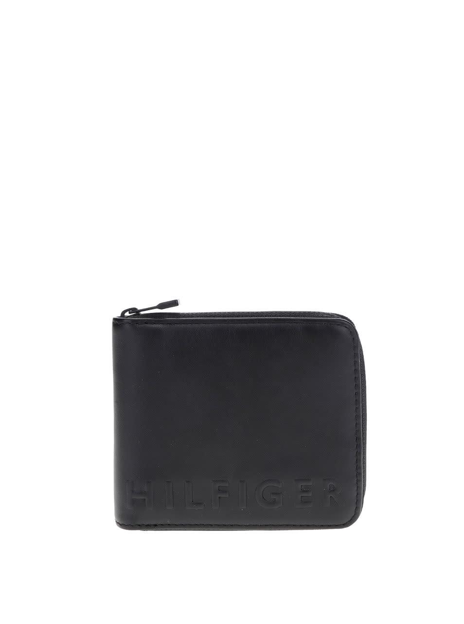 d92402189b9 Černá pánská kožená peněženka Tommy Hilfiger ...