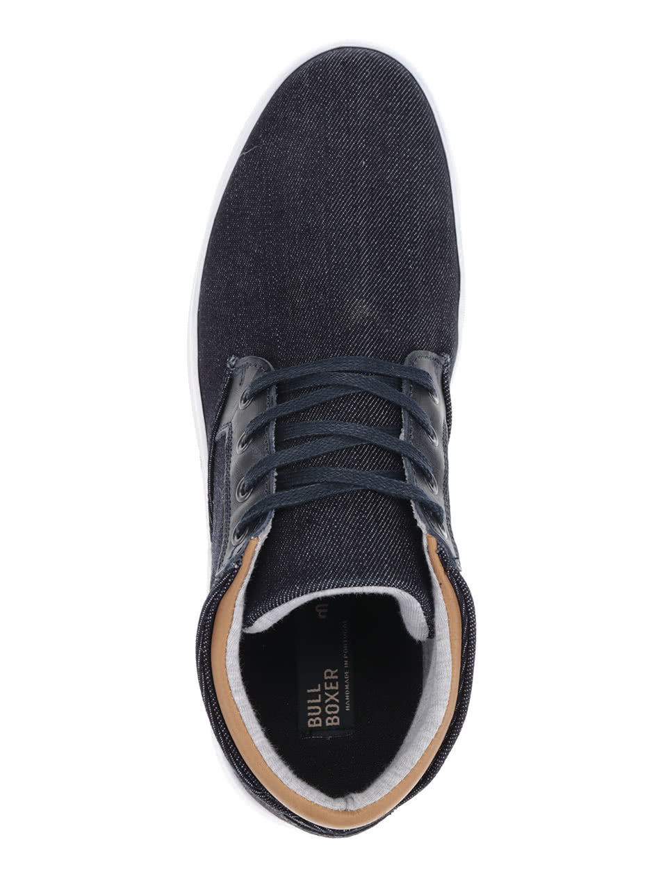 15ee40f558700 Tmavomodré pánske rifľové členkové topánky Bullboxer | ZOOT.sk