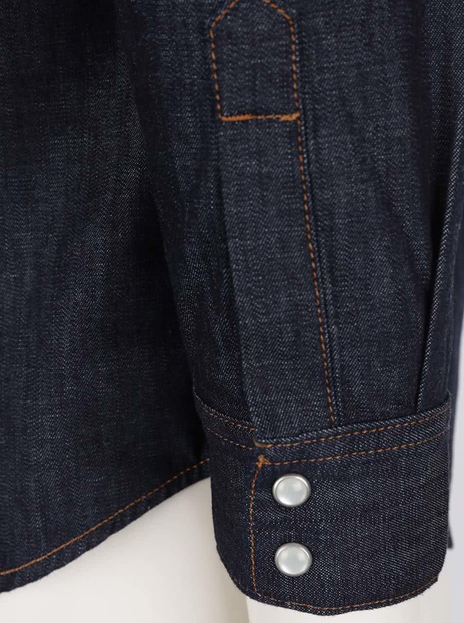 1bf979578ceb Tmavomodrá dámska rifľová košeľa s dlhým rukávom Levi s® ...