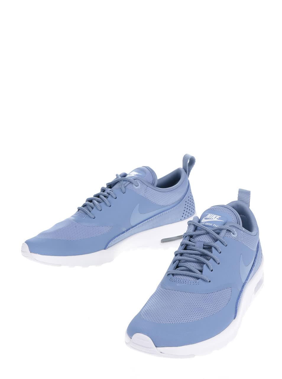 749a14559e Světle modré dámské tenisky Nike Air Max Thea ...