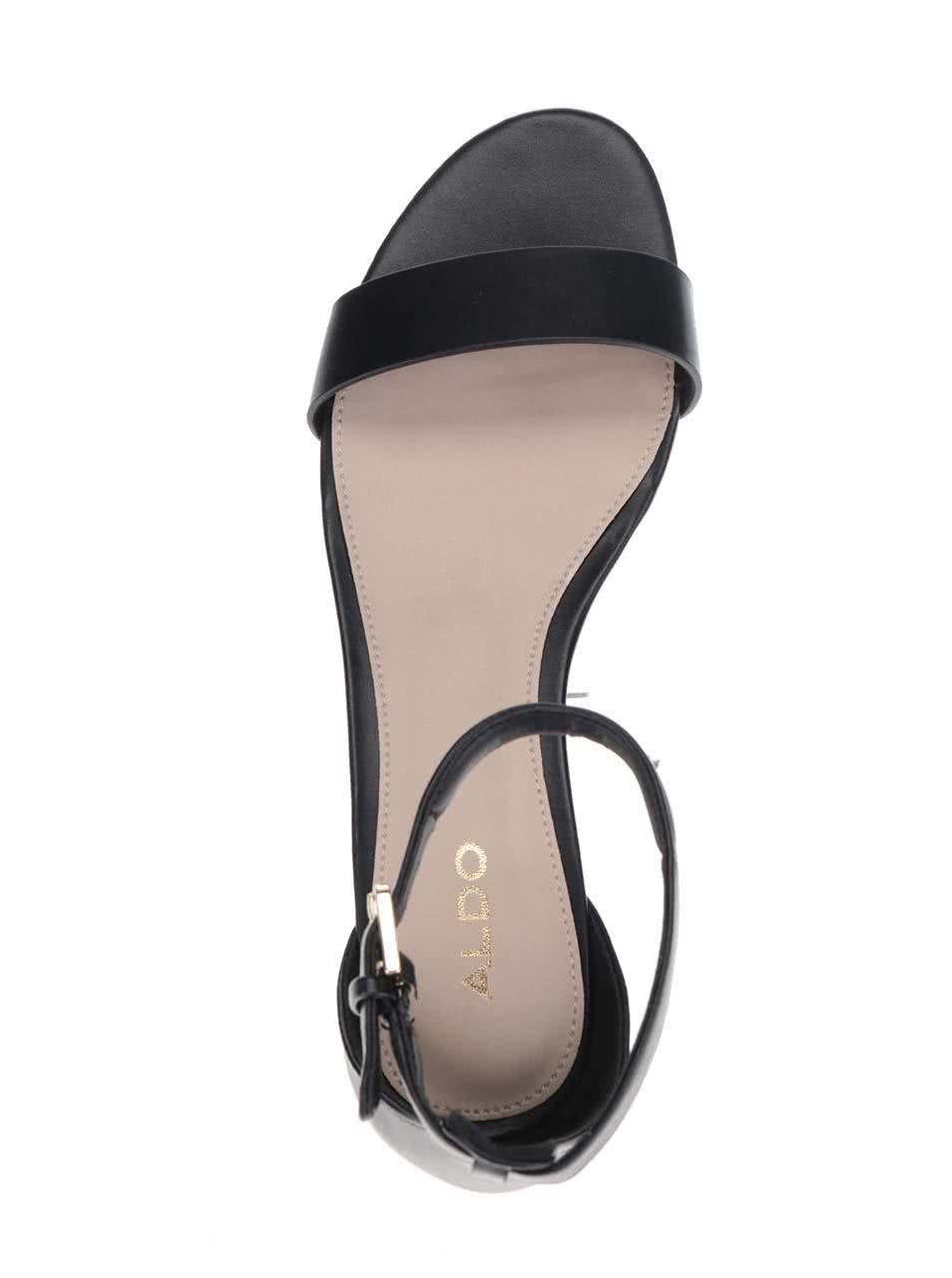 f505f75f21f42 Čierne dámske sandálky ALDO Kerina   ZOOT.sk