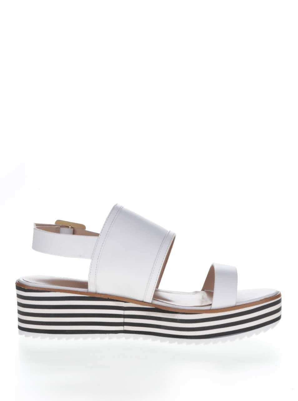 232d5f61d7 Biele dámske sandále na platforme ALDO Jin ...