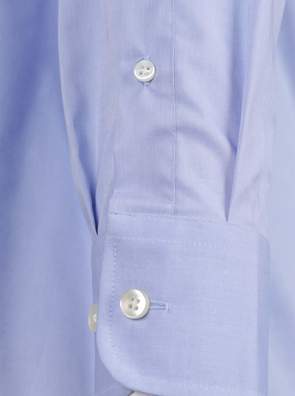 9ceeeae80bc4 Svetlomodrá formálna modern fit pánska košeľa STEVULA ...