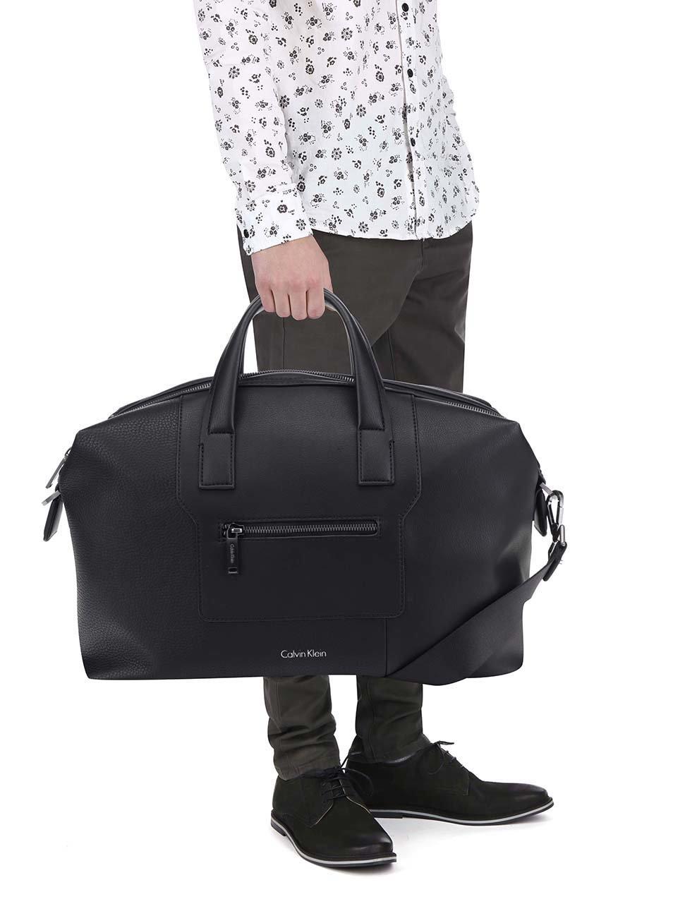 e44e90da6a Černá pánská taška Calvin Klein Jeans Alistair ...