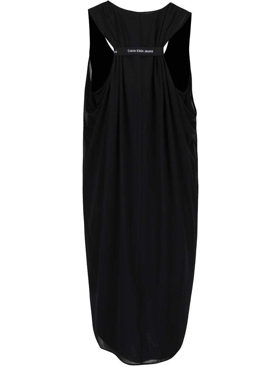 e4bab0b4008f Černé šaty se staženými zády Calvin Klein Jeans Daria ...