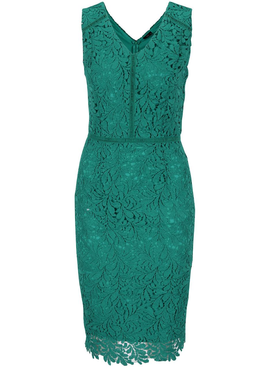 ad7aa4f7d67b Zelené čipkované šaty M Co ...