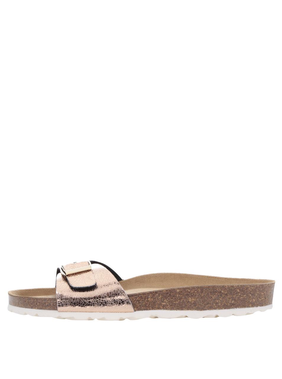 d7771b672a2f Ružové dámske lesklé topánky OJJU ...