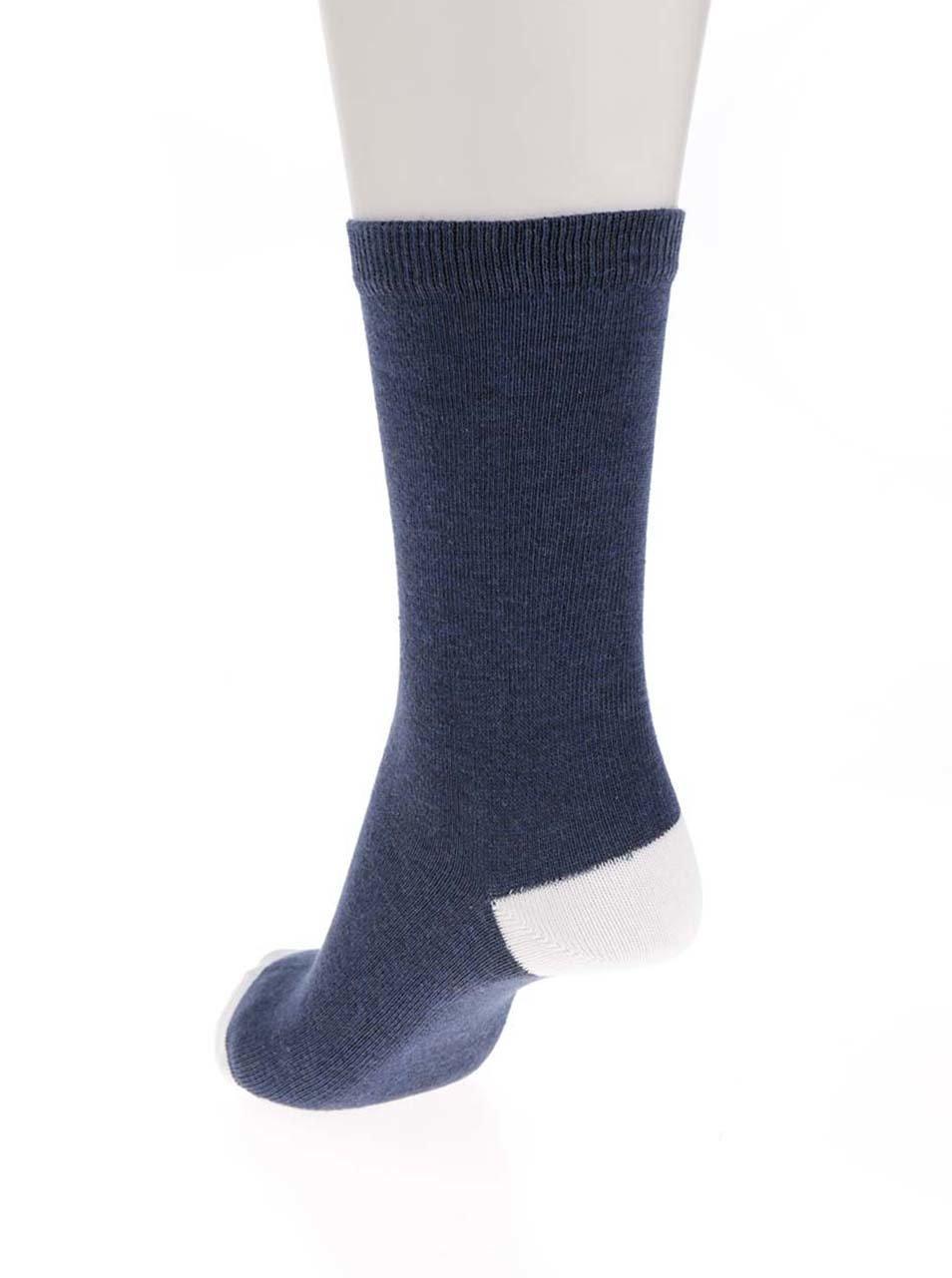 7a249be6bb9cf Súprava piatich párov dámskych ponožiek v modrej farbe M&Co | ZOOT.sk