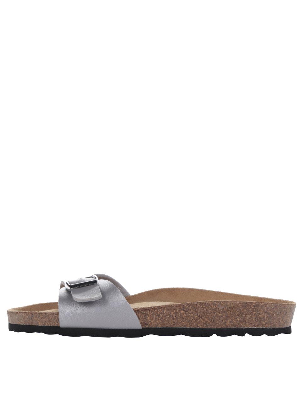 d910f67a99811 Sivé dámske topánky s prackou OJJU | ZOOT.sk