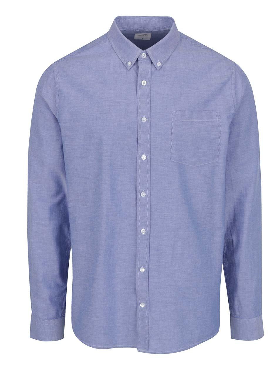 253b5cc6c8 Svetlomodrá košeľa Burton Menswear London ...
