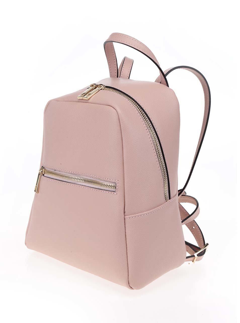 119eaf1e393ef Ružový dámsky kožený batoh ZOOT | ZOOT.sk