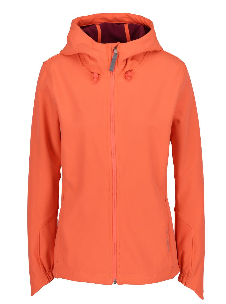 Oranžová dámska športová bunda O Neill ... dc6061be766