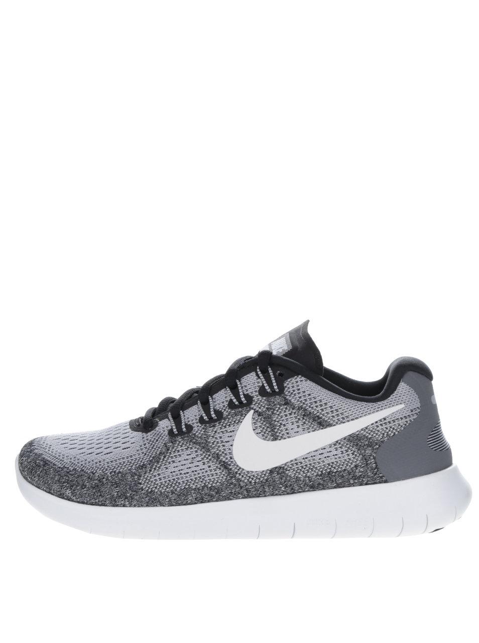 391b5716562d Sivé dámske tenisky Nike Free run ...